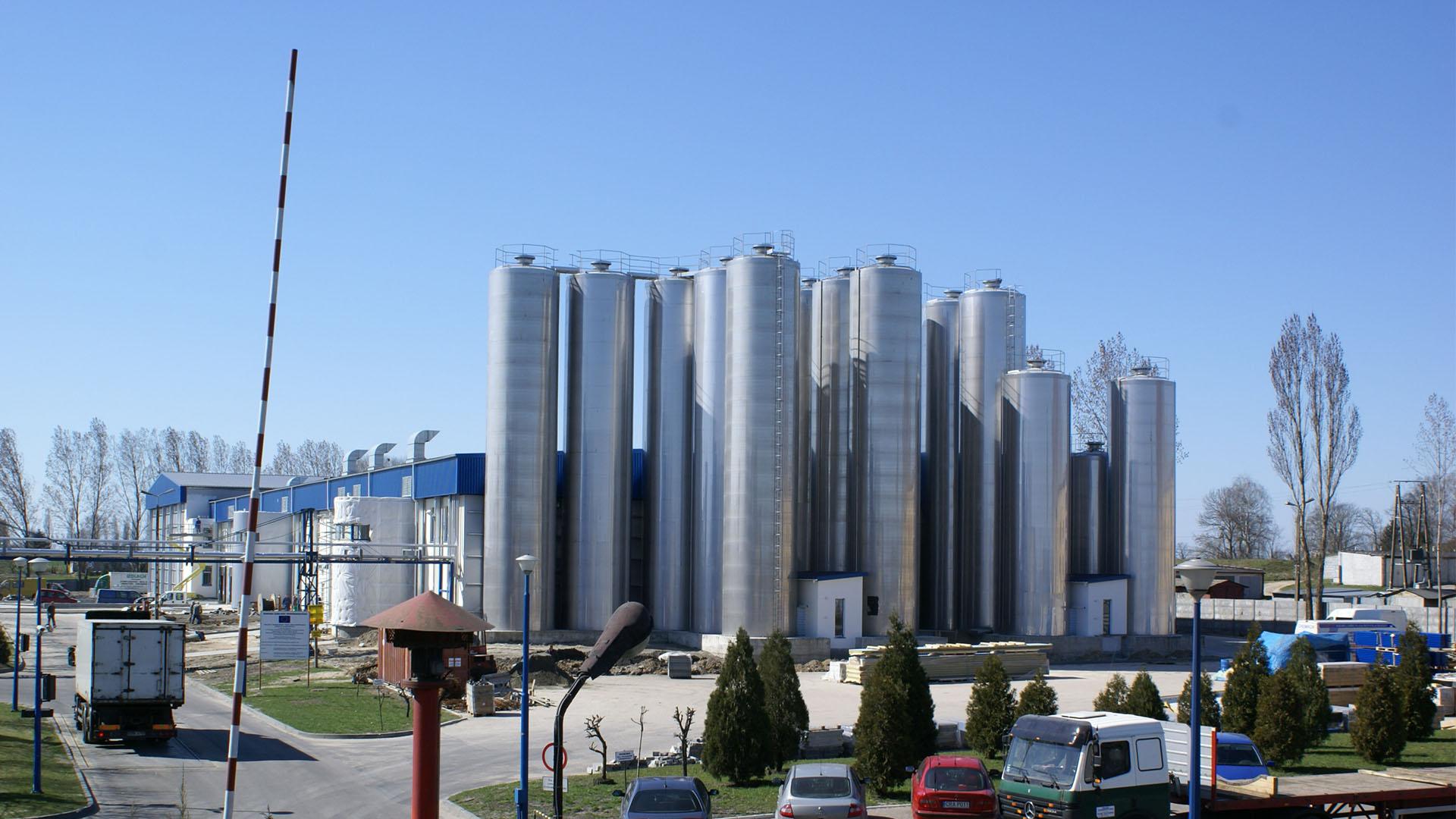 Zakład produkcji serów dojrzewających